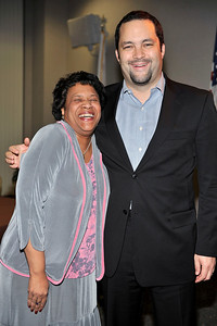 FORD MOTOR COMPANY SPONSORS 5TH ANNUAL NAACP IMAGE AWARDS HOLLYWOOD SYMPOSIUM HELD AT THE ACADEMY OF TELEVISION ARTS & SCIENCES AT THE GOLDENSON THEATRE IN NORTH HOLLYWOOD CALIFORNIA ON FEBRUARY 9, 2009 CHERYL HUDSON AND BEN JEALOUS