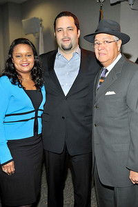 FORD MOTOR COMPANY SPONSORS 5TH ANNUAL NAACP IMAGE AWARDS HOLLYWOOD SYMPOSIUM HELD AT THE ACADEMY OF TELEVISION ARTS & SCIENCES AT THE GOLDENSON THEATRE IN NORTH HOLLYWOOD CALIFORNIA ON FEBRUARY 9, 2009 PAMELA ALEXANDER, AND BEN JEALOUS, AND BERNARD KINSEY