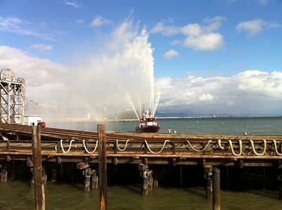 Fireboat Tribute