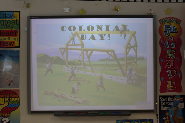 5th Grade Colonial Day