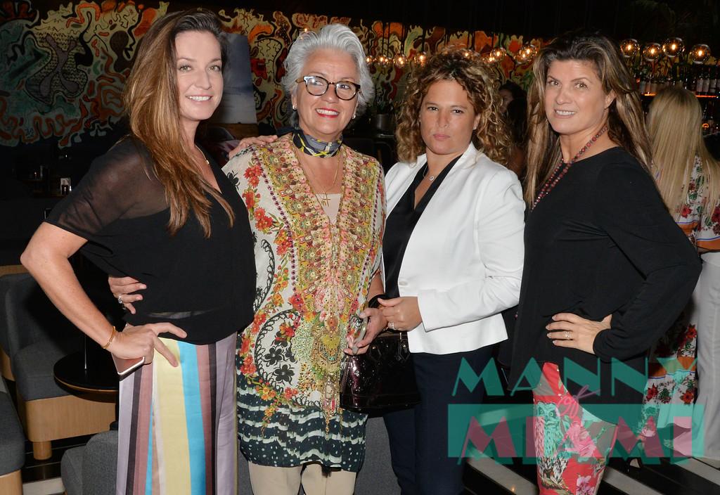 Katie Lillis, Adriana Pinto Torres, Tracy Ferrer,  Dora Puig