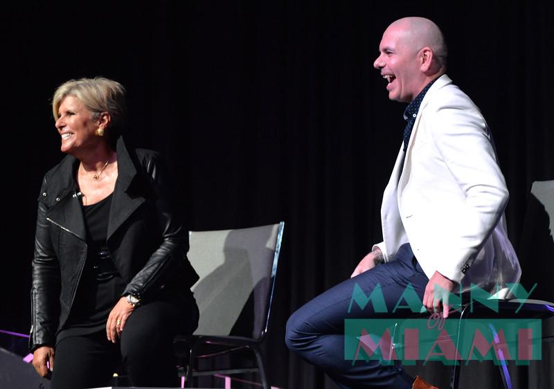 Suze Orman, Pitbull
