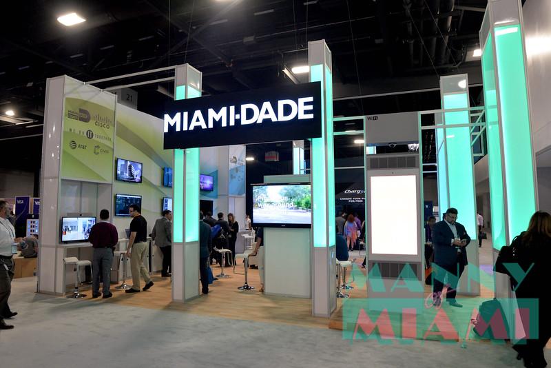 Miami-Dade booth