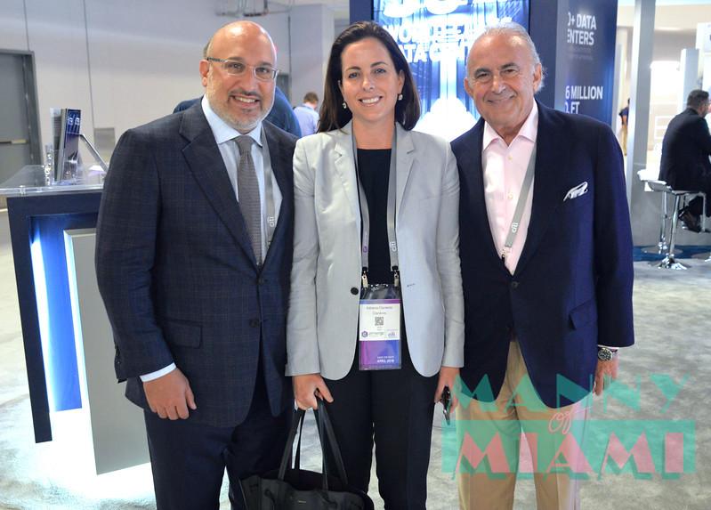 Aryeh Bourkoff, Adriana Cisneros, Gustavo Cisneros