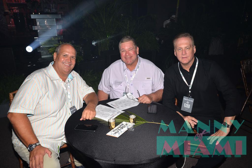 Stan Rudman, Paul Castrovovo, Jeff Peck