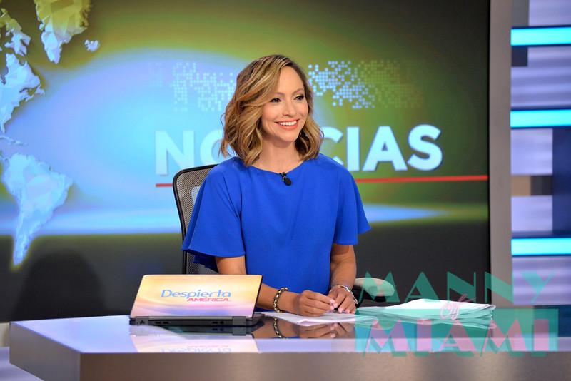 MIAMI, FL -JUNE 28, 2018: Shaq visits Despierta America at Univision Studios. (Photo by Manny Hernandez/ MannyofMiami.com)