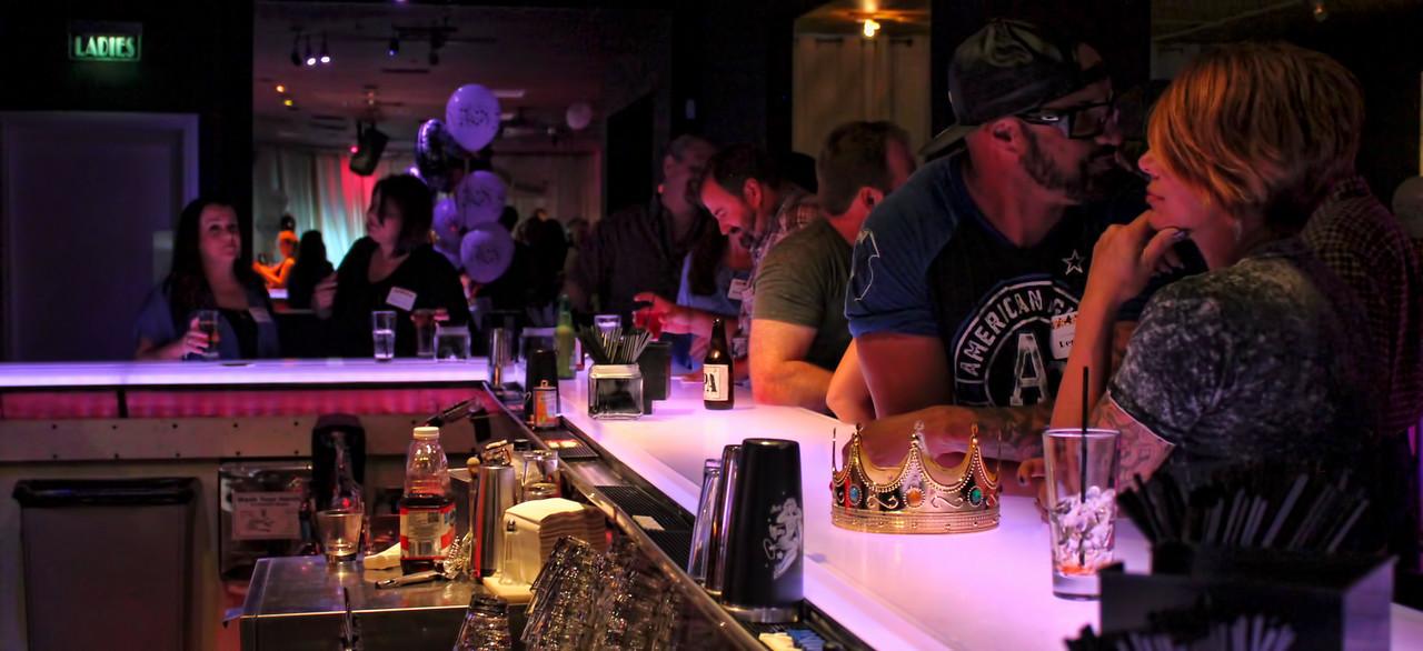 My crown rests, undisturbed on the bar.