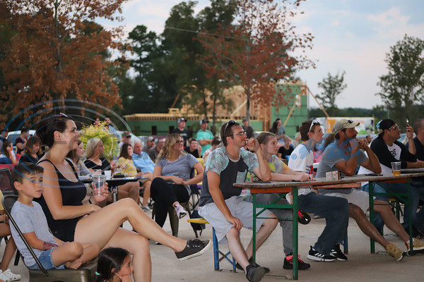 Many people came out to True Vine Brewing Company to enjoy Brawl At The Brewery a pro wrestling event to benefit the East Texas Food bank. Sarah Perez/Freelance