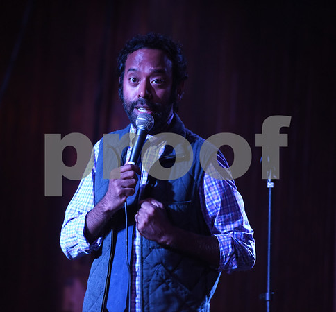 Paul Varghese performs as part of the East Texas Comedy Festival Wednesday night June 22, 2016 at Rick's on the Square.  (Sarah A. Miller/Tyler Morning Telegraph)