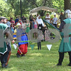 The Society for Creative Anachronism gives a battle demonstration at Tyler Celtic Fest Saturday June 25, 2016 at the Goodman Museum in Tyler.<br /> <br /> (Sarah A. Miller/Tyler Morning Telegraph)