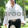 Ron Vik of Dallas wears Celtic attire at Tyler Celtic Fest Saturday June 25, 2016 at the Goodman Museum in Tyler.<br /> <br /> (Sarah A. Miller/Tyler Morning Telegraph)