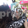 Alan Brewer helps Hope Moore with her costume at Tyler Celtic Fest Saturday June 25, 2016 at the Goodman Museum in Tyler.<br /> <br /> (Sarah A. Miller/Tyler Morning Telegraph)