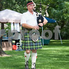 Paul Watson of Tyler plays bagpipes at Tyler Celtic Fest Saturday June 25, 2016 at the Goodman Museum in Tyler.<br /> <br /> (Sarah A. Miller/Tyler Morning Telegraph)