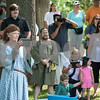 A crowd watches a battle demonstration performed by Society for Creative Anachronism at Tyler Celtic Fest Saturday June 25, 2016 at the Goodman Museum in Tyler.<br /> <br /> (Sarah A. Miller/Tyler Morning Telegraph)