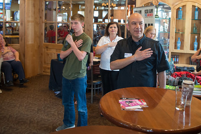 "930 AM The Answer Presented AN AMERICAN HERO - WITH JOHN ""TIG"" TIEGEN. THE BENGAZI STORY VIP EVENT at the Lion & Rose Restaurant (The Rim)  on 24Sep16 in San Antonio, Texas. Gallery: http://smu.gs/2dhxhGS"