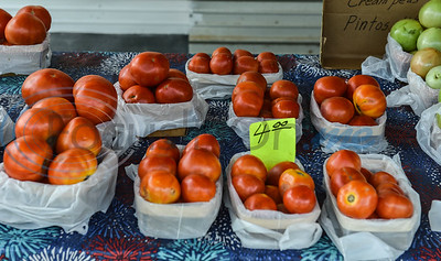 Tomatoes are ready for Jacksonville's famous annual Tomato Fest at the Tomato Shed located on Alabama. Newly elected Mayor Randy Gorham proclaimed Jacksonville as Tomatoville on Monday, June 3 in preparation for the Fest taking place on Saturday, June 8. (Jessica T. Payne/Tyler Morning Telegraph)