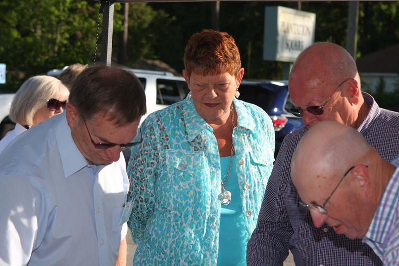 Glen Harrison, Erlene Booth, Doug Booth