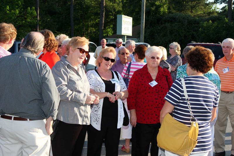 Rose Baysden Clark, Barbara Quinn Cooke, Faye Miller Baysden