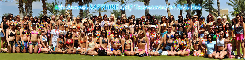 Photo and Video of Gallery of the Girls of Sapphire at Peter Feinstein's 'Annual Sapphire Poker and Golf Tournament' raising money to benefit 'The Sapphire Foundation For Prostate Cancer' and 'The Nevada Cancer Institute.' On hand to host this year's Annual Sapphire Golf Tournament at Bali Hai Golf Club is Robert Horry. Last year over $180,000 was raised by the generous donors of Sapphire Gentlemen's Club.