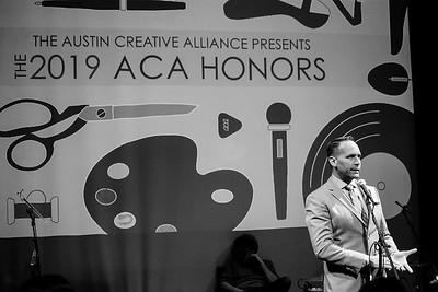 ACA Honors 2019 February 19, 2019 John Riedie