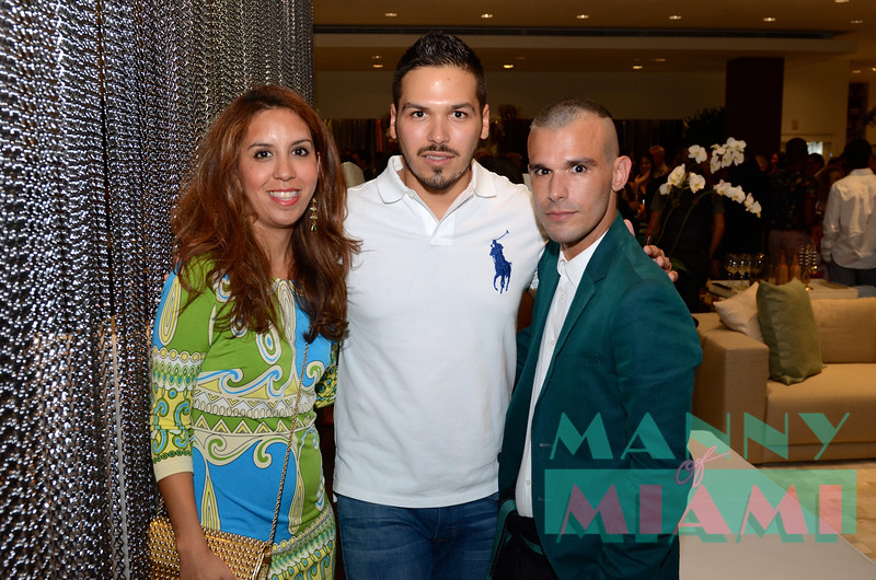 Karima Vernon, Sebastian Blanco, Pedro Chirino