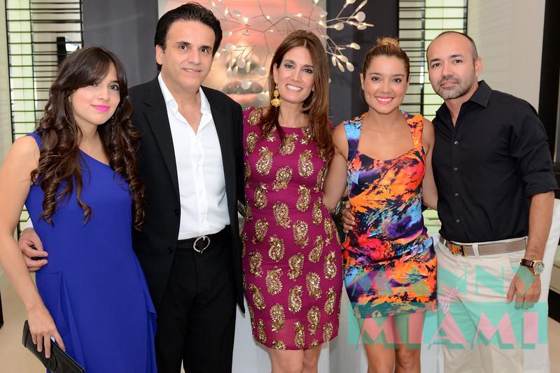 Maria Vega-Luis Morales, Susy Acosta, Veronika Mejia, Andres Arango