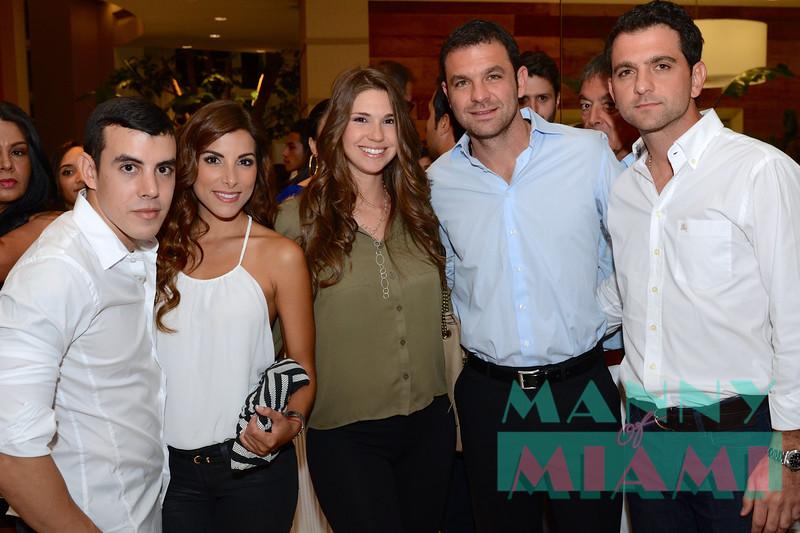 Mauricio Gonzalez, Natalia Saenz, Roser & Tony Cocchiola, Michael Angelo Cocchiola