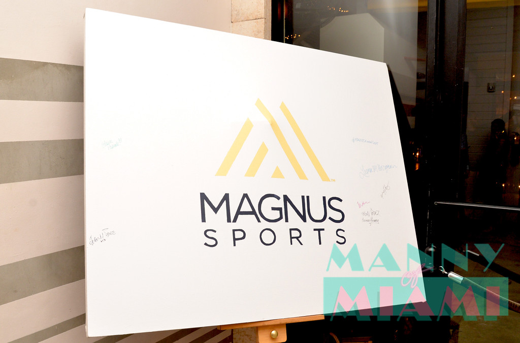 MIAMI, FL - JULY 11: Magnus Sports event at Sea Spice in the Miami River on July 11, 2017 in Miami, Florida. (Photo by Manny Hernandez/ MannyofMiami.com)