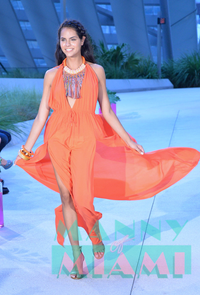 MIAMI , FL - JULY 20: Rose Runway at Rise in Brickell City Centre  on July 19, 2017 in Miami, Florida. (Photo by Manny Hernandez/ MannyofMiami.com)