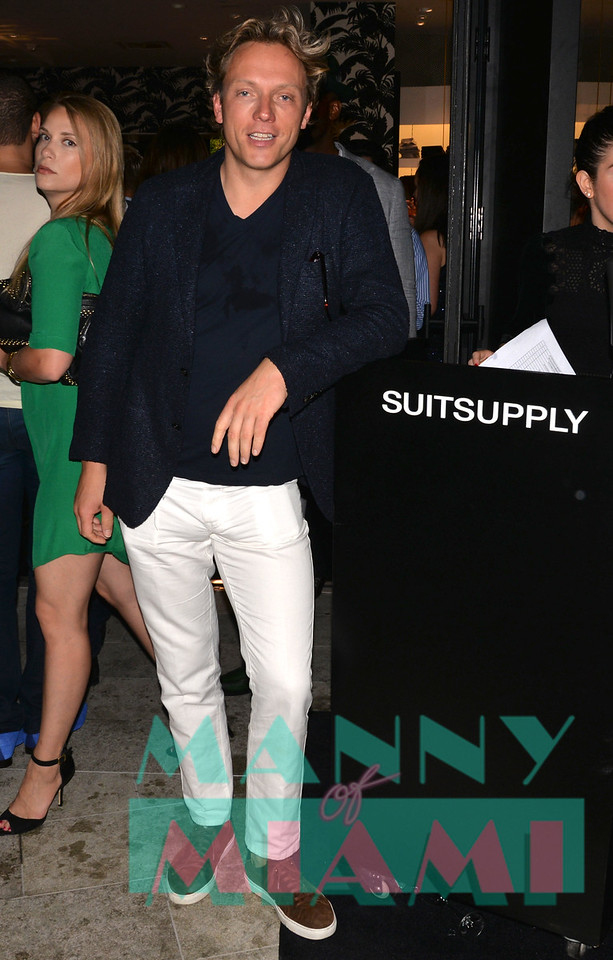 MIAMI, FL - JULY 20: Opening of Suit Supply in Brickell Centre on July 20, 2017 in Miami, Florida. (Photo by Manny Hernandez/ MannyofMiami.com)