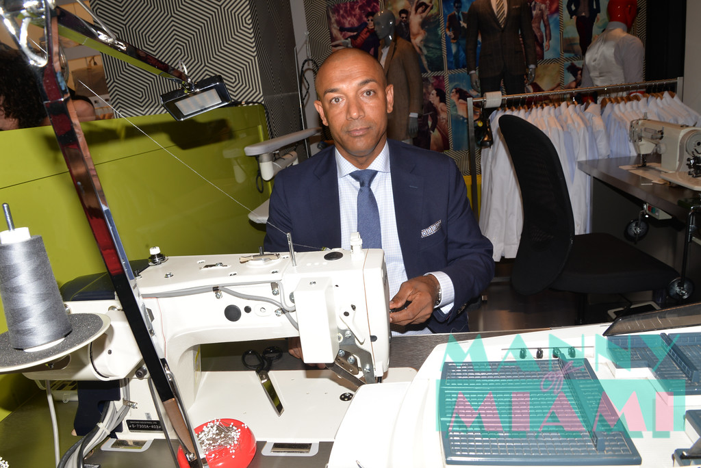 MIAMI BEACH, FL - JULY 20: Opening of Suit Supply in Brickell Centre at the Edition Hotel on July 19, 2017 in Miami Beach, Florida. (Photo by Manny Hernandez/ MannyofMiami.com)