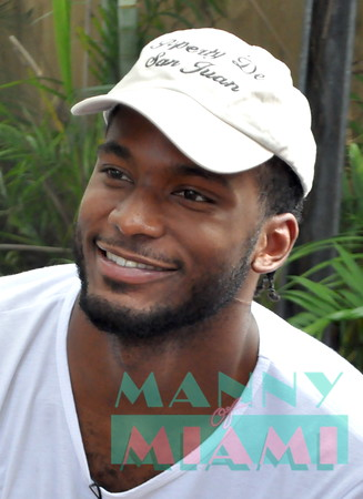 7-24-16 - Justise Winslow host Backyard BBQ at Ms Cheezious