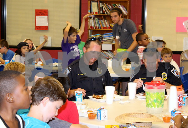 Policeman and Fireman Appreciation Luncheon - July 12, 2013