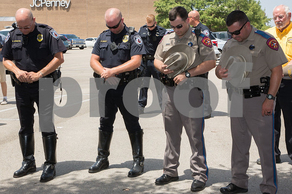 Tyler Community Honors Law Enforcement, July 6,2016/photo by Don Spivey