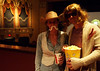 Steve and Regina Miller have a couple's night out as The Stranger and The Dude.