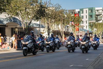 LA Police Drill Team