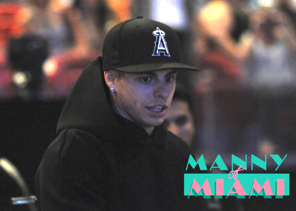MIAMI, FL-- August 31, 2012-- Casper Smart attends at American Airlines Arena as part of the Jennifer Lopez and Enrique Iglesias tour. (Photo by Manny Hernandez)