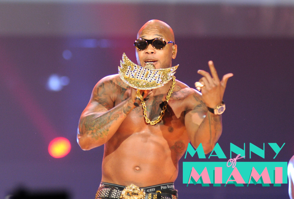 MIAMI, FL-- August 31, 2012-- Flo Rida  performs at American Airlines Arena as part of the Jennifer Lopez and Enrique Iglesias tour. (Photo by Manny Hernandez)