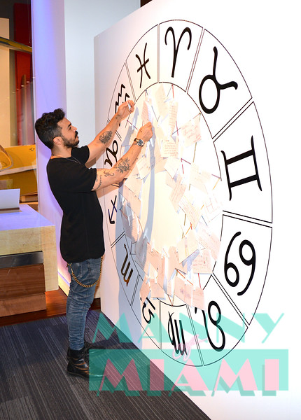 MIAMI, FL - AUGUST 8th:  Shalim Ortiz visits Walter Mercado exhibit at HistoryMiami museum on August 8th, 2019 in Miami, FL. (Photo by Manny Hernandez)