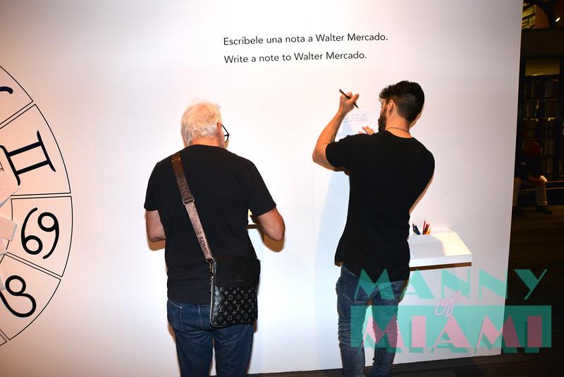 MIAMI, FL - AUGUST 8th:  Shalim Ortiz, Richard Jay Alexander visits Walter Mercado exhibit at HistoryMiami museum on August 8th, 2019 in Miami, FL. (Photo by Manny Hernandez)