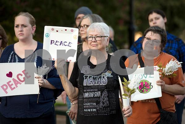 Inspiring Peace Rally following Charlottesville