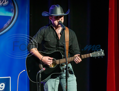 BJ Stephens performs in the 2019 East Texas Idol Competition.
