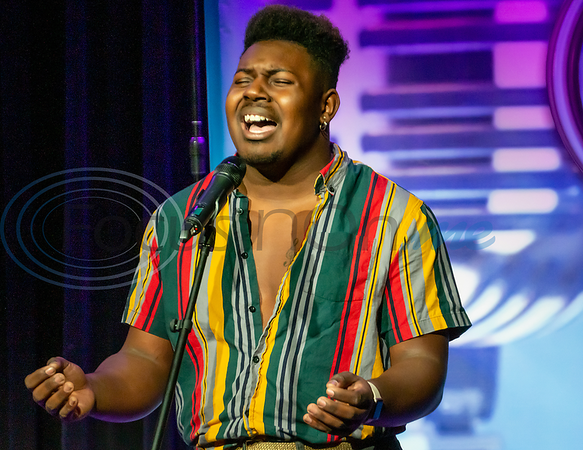 Contestant Jaylon Crump performs in the 2019 East Texas Idol Competition.