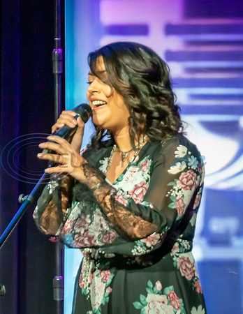 Angelina (Nina) Sanders performs in the first round of the 2019 East Texas Idol Competition.