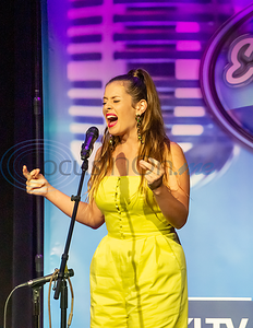 Cara Campbell performs in the 2019 East Texas Idol Competition.