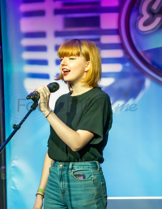 Contestant Alexia-Raven Phillips performs in the first round of the 2019 East Texas Idol Competition.