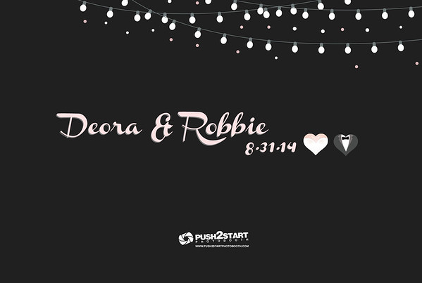 8/31/14 - Deora and Robbie's Wedding