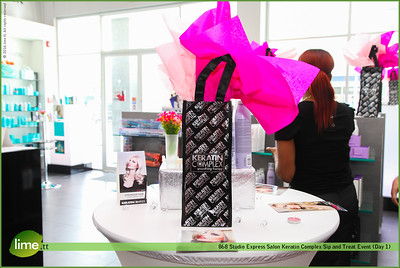 868 Studio Express Salon and Store Keratin Complex Sip and Treat Event (Day 1)
