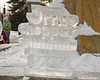Ice Carving For Corporate Sponsor<br /> Price Chopper