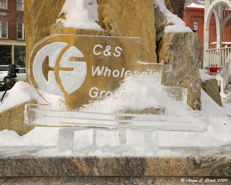 Ice Carving For Corporate Sponsor<br /> C&S Wholesale Grocers